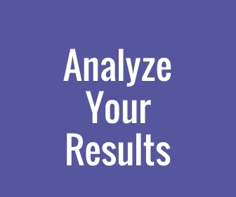 analyze your results